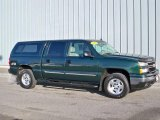 2006 Dark Green Metallic Chevrolet Silverado 1500 LT Crew Cab 4x4 #3518871
