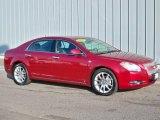 2008 Red Jewel Tint Coat Chevrolet Malibu LTZ Sedan #3518867