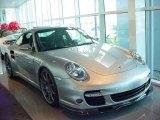 2007 GT Silver Metallic Porsche 911 Turbo Coupe #352007