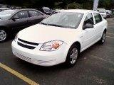 2007 Summit White Chevrolet Cobalt LS Sedan #35282944