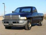 2001 Patriot Blue Pearl Dodge Ram 1500 Regular Cab #3517108