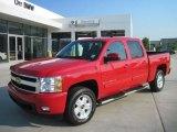 2007 Victory Red Chevrolet Silverado 1500 LTZ Crew Cab 4x4 #35283492