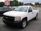2011 Summit White Chevrolet Silverado 1500 Regular Cab #35283823