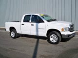 2003 Bright White Dodge Ram 1500 SLT Quad Cab 4x4 #3518859