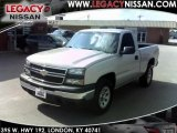 2006 Silver Birch Metallic Chevrolet Silverado 1500 Work Truck Regular Cab 4x4 #35282989