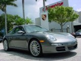 2008 Meteor Grey Metallic Porsche 911 Carrera S Coupe #351956