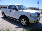 2010 Oxford White Ford F150 XLT SuperCab 4x4 #35283861