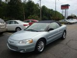 2002 Sterling Blue Satin Glow Chrysler Sebring Limited Convertible #35283249