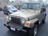 2006 Light Khaki Metallic Jeep Wrangler SE 4x4 #35283029