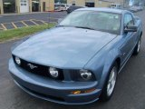 2007 Windveil Blue Metallic Ford Mustang GT Premium Coupe #35283034
