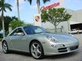 2008 Arctic Silver Metallic Porsche 911 Targa 4 #351962