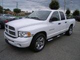 2004 Bright White Dodge Ram 1500 SLT Quad Cab #35283577