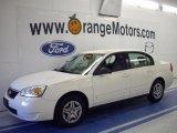2007 White Chevrolet Malibu LS Sedan #35283301