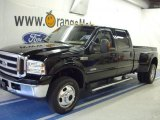 2005 Black Ford F350 Super Duty Lariat Crew Cab 4x4 Dually #35283311