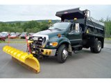 2007 Ford F650 Super Duty XLT Regular Cab Dump Truck Data, Info and Specs