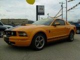 2007 Grabber Orange Ford Mustang V6 Deluxe Coupe #35283327