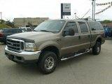 2003 Arizona Beige Metallic Ford F250 Super Duty Lariat Crew Cab 4x4 #35283329