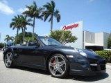 2008 Atlas Grey Metallic Porsche 911 Turbo Cabriolet #351971