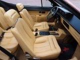 1986 Ferrari Mondial Interiors