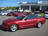 2007 Redfire Metallic Ford Mustang GT Premium Convertible #35354284
