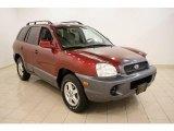 2004 Merlot Red Hyundai Santa Fe  #35354538