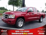 2010 Inferno Red Crystal Pearl Dodge Dakota ST Extended Cab #35354053