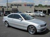 2001 Titanium Silver Metallic BMW 3 Series 330i Coupe #35354366