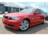 2007 Crimson Red BMW 3 Series 328i Sedan #35354368