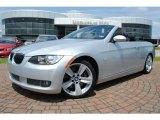 2009 Titanium Silver Metallic BMW 3 Series 335i Convertible #35354386
