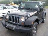 2010 Black Jeep Wrangler Sport Mountain Edition 4x4 #35353883