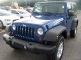 2010 Deep Water Blue Pearl Jeep Wrangler Sport 4x4 #35353884