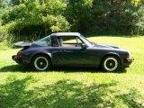 1987 Porsche 911 Dark Blue Grey Metallic