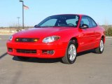 2003 Bright Red Ford Escort ZX2 Coupe #3517110