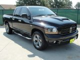 2006 Black Dodge Ram 1500 Night Runner Quad Cab #35354141