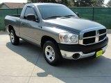 2007 Mineral Gray Metallic Dodge Ram 1500 ST Regular Cab #35354142
