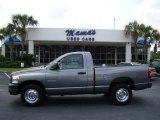 2008 Mineral Gray Metallic Dodge Ram 1500 ST Regular Cab #35354224