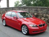 2007 Crimson Red BMW 3 Series 335i Sedan #35353962