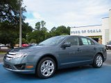 2011 Steel Blue Metallic Ford Fusion SE #35353970