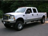 2004 Oxford White Ford F250 Super Duty XLT Crew Cab 4x4 #35354495