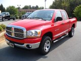 2006 Flame Red Dodge Ram 1500 ST Quad Cab 4x4 #35354779