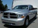 2010 Bright Silver Metallic Dodge Ram 1500 SLT Quad Cab #35353987