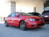 2007 Rallye Red Honda Civic EX Coupe #3525313