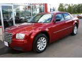 2008 Inferno Red Crystal Pearl Chrysler 300 LX #35354837