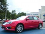 2011 Red Candy Metallic Ford Fusion SE #35427348