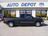 2004 Dark Gray Metallic Chevrolet Silverado 1500 Z71 Extended Cab 4x4 #35427367