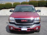 2005 Fire Red GMC Sierra 2500HD SLE Extended Cab 4x4 #3518204
