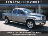 2008 Mineral Gray Metallic Dodge Ram 1500 ST Quad Cab 4x4 #35427397