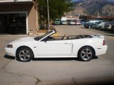 2001 Oxford White Ford Mustang GT Convertible #35427961