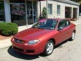 2003 Toreador Red Metallic Ford Escort ZX2 Coupe #35427649