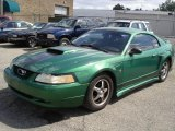 2000 Electric Green Metallic Ford Mustang V6 Coupe #35427666